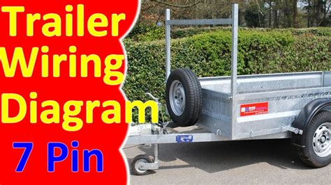 Pin Trailer Wiring Diagram Harness Youtube