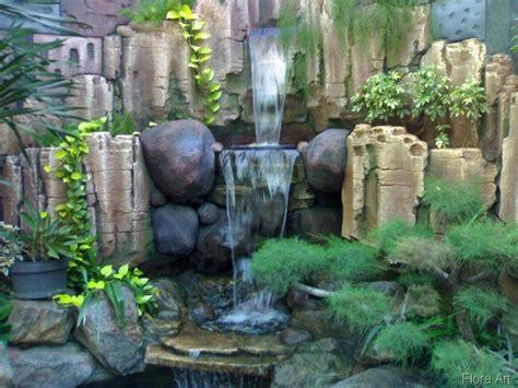 yuk percantik taman  air terjun buatan rumah