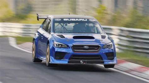 video subaru wrx sti laps  nuerburgring
