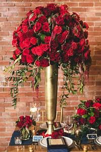 Rich Red And Gold Wedding Ideas ElegantWeddingca