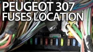 Where Are Fuses  Relays And Obd Port In Peugeot 307  Fuse Box Obd2  Tips