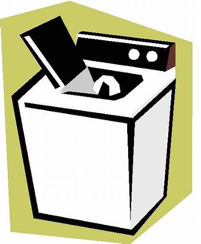 Washer Clothes Clipart Washing Clip Machine Gold