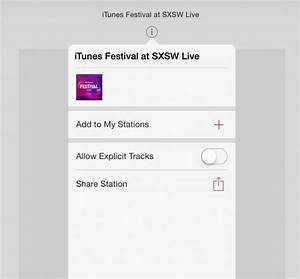 Apple's iTunes Radio Has Explicit Language Even With ...