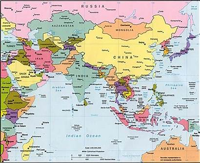 Map Asia Political Quiz Resources Study Countries