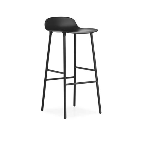 bar rangement cuisine tabouret de bar form steel normann copenhagen