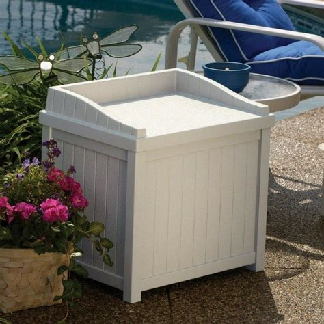 suncast 22 gallon deck box best 25 deck box ideas on pool storage box