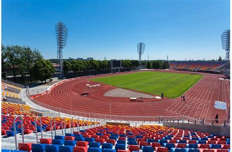 Daugavas stadiona pārbūves pirmās kārtas darbi attaisno ...