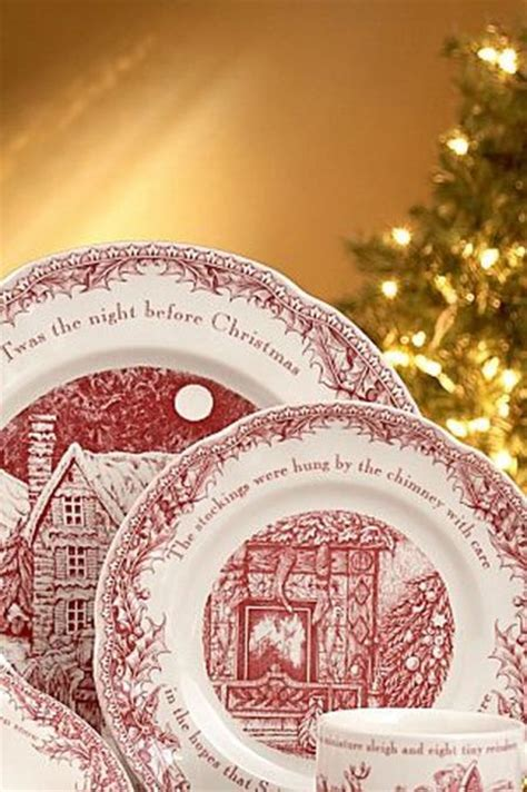 Christmas dinnerware collection