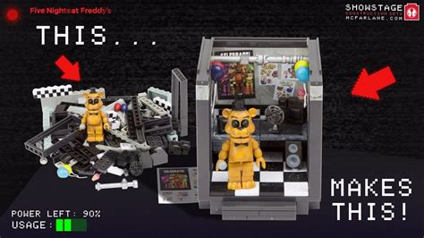 nights  freddy  office mcfarlane toys  pcs