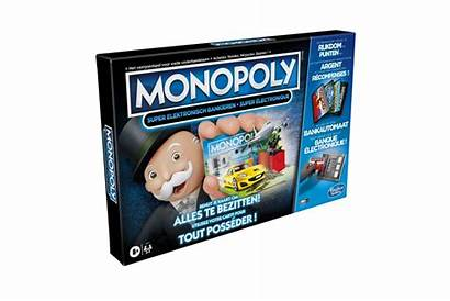 Hasbro Monopoly Banking Cash Bankieren Elektronisch Dodax