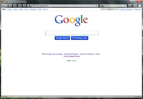 Google France En Page D'accueil
