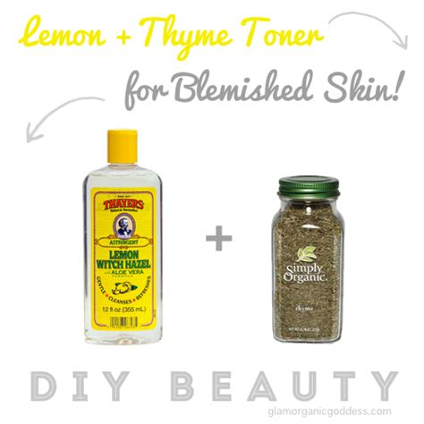 Best Halloween Books To Read by Diy Beauty Lemon Thyme Toner For Blemished Skin The