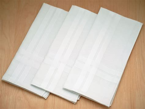 free shipping 3 mens monogrammed handkerchiefs script set of 3 fine woven mens handkerchiefs with bold stripes