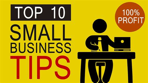 Top 10 Small Business Tips For Newbies To Start New