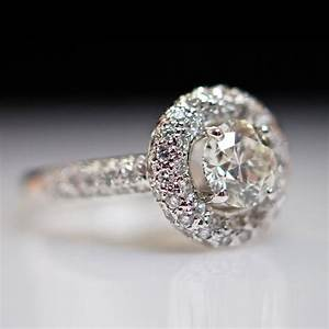 Vintage white gold wedding rings old but wonderful ipunya for Old vintage wedding rings