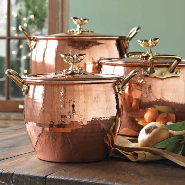 ruffoni hammered copper cookware williams sonoma