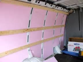 Insulation for Cargo Van Conversions