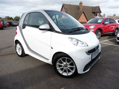 Smart Car Coupe by Smart Car Fortwo Coupe Mhd White 2013 In
