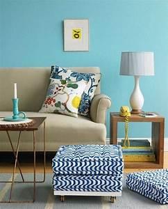 Wohnzimmer Gemütlich Gestalten : wohnzimmer farblich gestalten 71 wohnideen mit der farbe blau ~ Indierocktalk.com Haus und Dekorationen