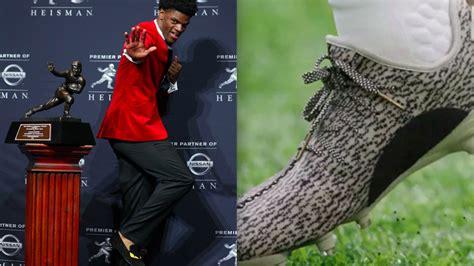 adidas wanted lamar jackson  wear yeezy cleats hed