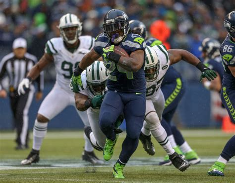 marshawn lynch pictures  york jets  seattle seahawks