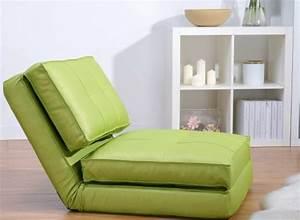 Chauffeuse D Appoint : fauteuil chauffeuse convertible en lit d 39 appoint vert ~ Teatrodelosmanantiales.com Idées de Décoration
