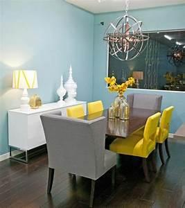 couleur mur salle a manger maisonreveclub With salle a manger mur gris