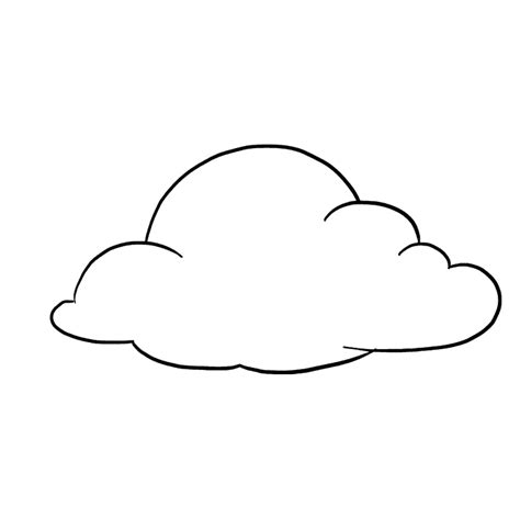 draw clouds  easy drawing tutorial
