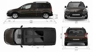 Dimension Peugeot Partner : the van like peugeot partner tepee with up to seven seats ~ Medecine-chirurgie-esthetiques.com Avis de Voitures