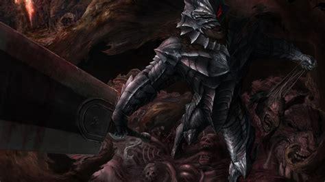 desktop wallpaper armour anime boy guts sword berserk