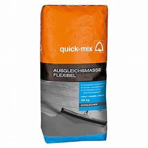 Ausgleichsmasse Quick Mix : quick mix ausgleichsmasse flexibel 10 kg schichtdicke 2 ~ Michelbontemps.com Haus und Dekorationen