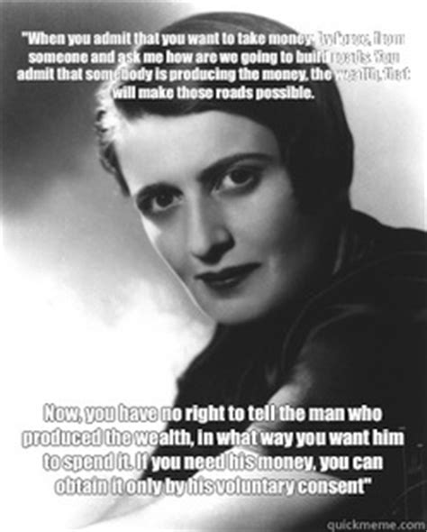 Ayn Rand Memes - i owe nothing to my brothers nor do i g by ayn rand like success