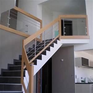 Habillage Escalier Interieur : awesome modele d escalier interieur 0 rampe et ~ Premium-room.com Idées de Décoration