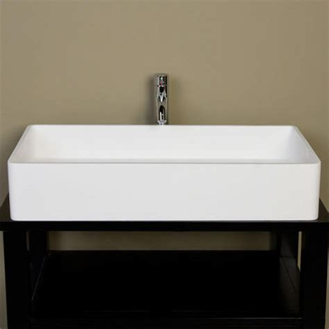 very small vessel sinks very small vessel sinks small vessel sinks white with