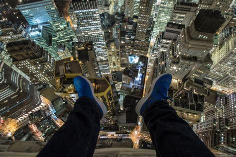 dark cyanide is an 18 year old urban explorer scaling nyc
