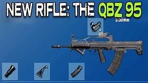 PUBG NEW RIFLE QBZ95 All Attachments YouTube