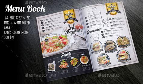 modern retro vintage restaurant menu templates web