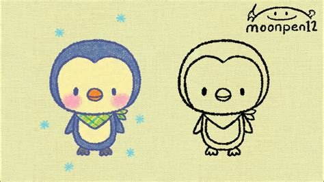 Penguin drawing pictures at getdrawings com free for personal use. 펭귄그리기 - YouTube