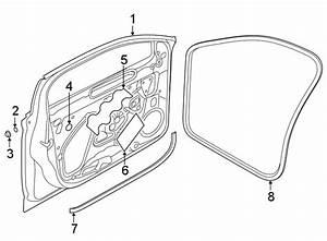 2019 Volkswagen Jetta Door Belt Molding  Lower   Door Belt