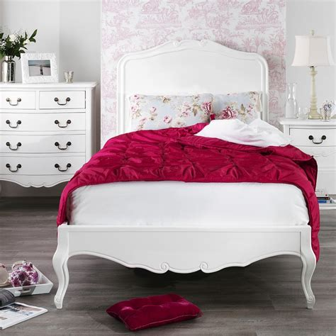 shabby chic wooden bed shabby chic white single bed
