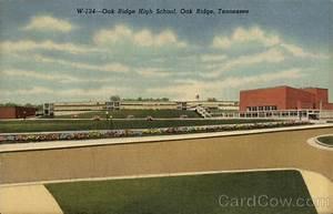 Oak Ridge High School Tennessee Postcard