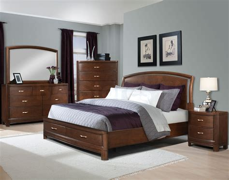 Bedroom Ideas Brown Leather Bed Home Delightful