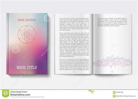 book design templates book design template stock vector illustration of isolated 63491420