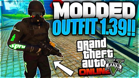 GTA 5 Online - u0026quot;CREATE A MODDED OUTFIT USING GLITCHESu0026quot; *After Patch 1.39* (GTA 5 Next Gen ...