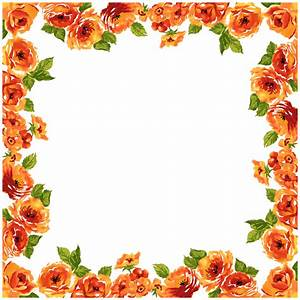 FLOWER BORDER - Cliparts.co
