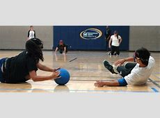 Goalball in Blindfolds, Soccer in Wheelchairs Cal Busts
