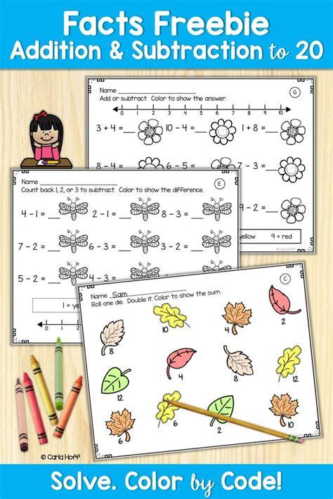 addition subtraction   worksheets