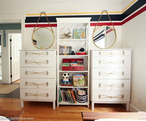 How To Style A Dresser by Ikea Tarva Dresser Hack Nautical Style Dresser With Dock