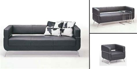 contemporary black leather sofa f51 contemporary black leather sofa set black design co
