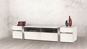 Meuble Tele Moderne : meuble t l suspendu moderne pour un salon minimaliste ~ Teatrodelosmanantiales.com Idées de Décoration